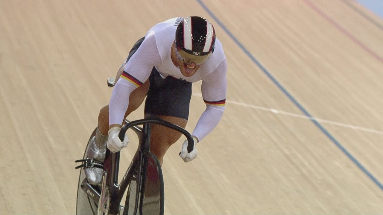 Cycling Track Men's Sprint Qualifying Full Replay ...