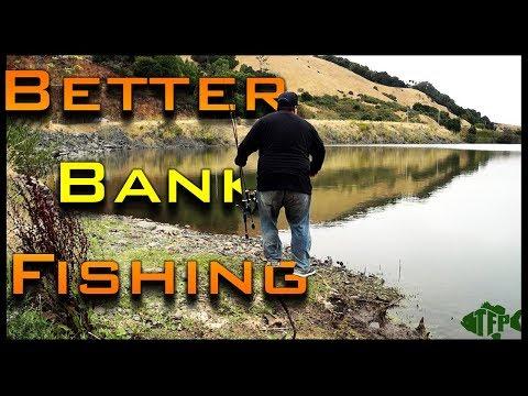 How to Bank Fish and Become a Better Bank Angler - Bank Fishing Tips