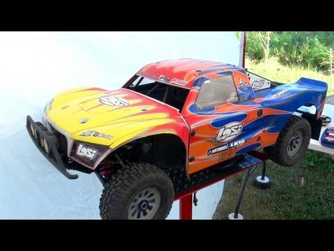 RC ADVENTURES - DiRTY iN THE BONE (PT 2) - 40lb LOSI 5ive T Gas Powered 4X4 TRUCKS