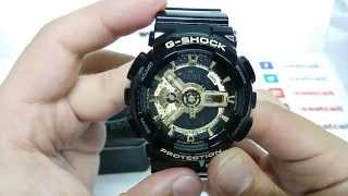 Casio G-shock GA-110GB-1A inceleme ve ayarlama