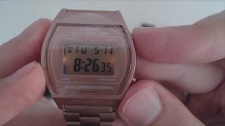 İnce ve zarif: Casio B640WC - KARPA Video Kılavuz ve Saat İncelemeleri #6