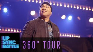 LL Cool J & Chrissy Teigen Give a 360° Tour of the LSB Stage | Lip Sync Battle BTS