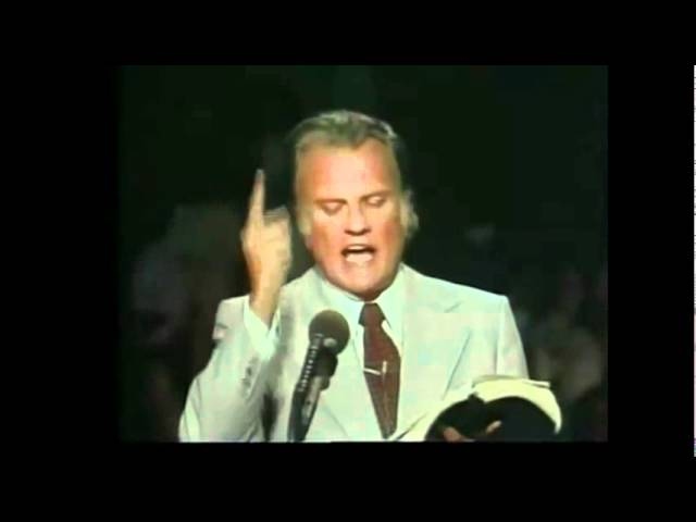 Dr Billy Graham: Three Things You Cannot Do Without