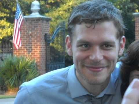 Meeting Joseph Morgan {The Vampire Diaries} in Covington, GA