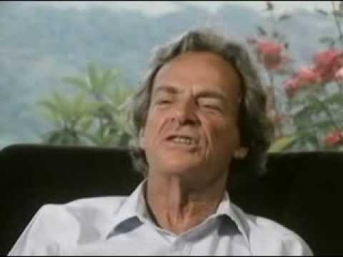 3 of 5 Richard Feynman the pleasure of finding things out