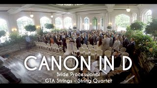 Canon In D Wedding Processional String Quartet