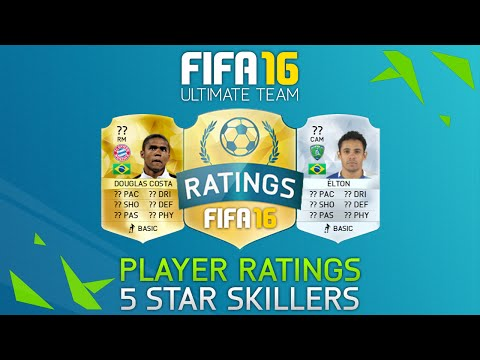 Fifa 16 - ALL 5 STAR SKILLERS! - New Skillers & 2 Women with 5 Star Skills!