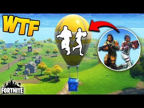 HIDING INSIDE A SUPPLY BALLOON? - Fortnite Funny Fails and WTF Moments! #173 (Daily Moments)