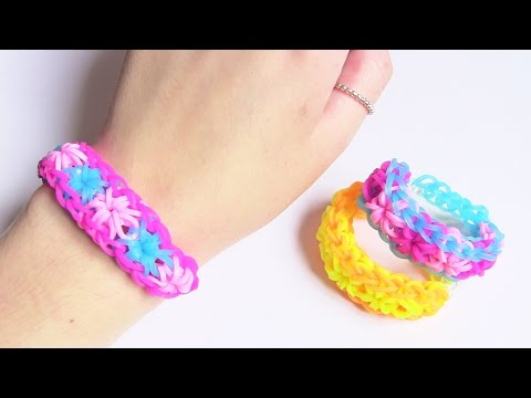 Star Burst Loom Band Tutorial ●  GIVEAWAY