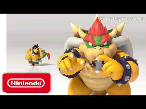 Nintendo Switch Parental Controls - Nintendo Switch Presentation 2017 Trailer