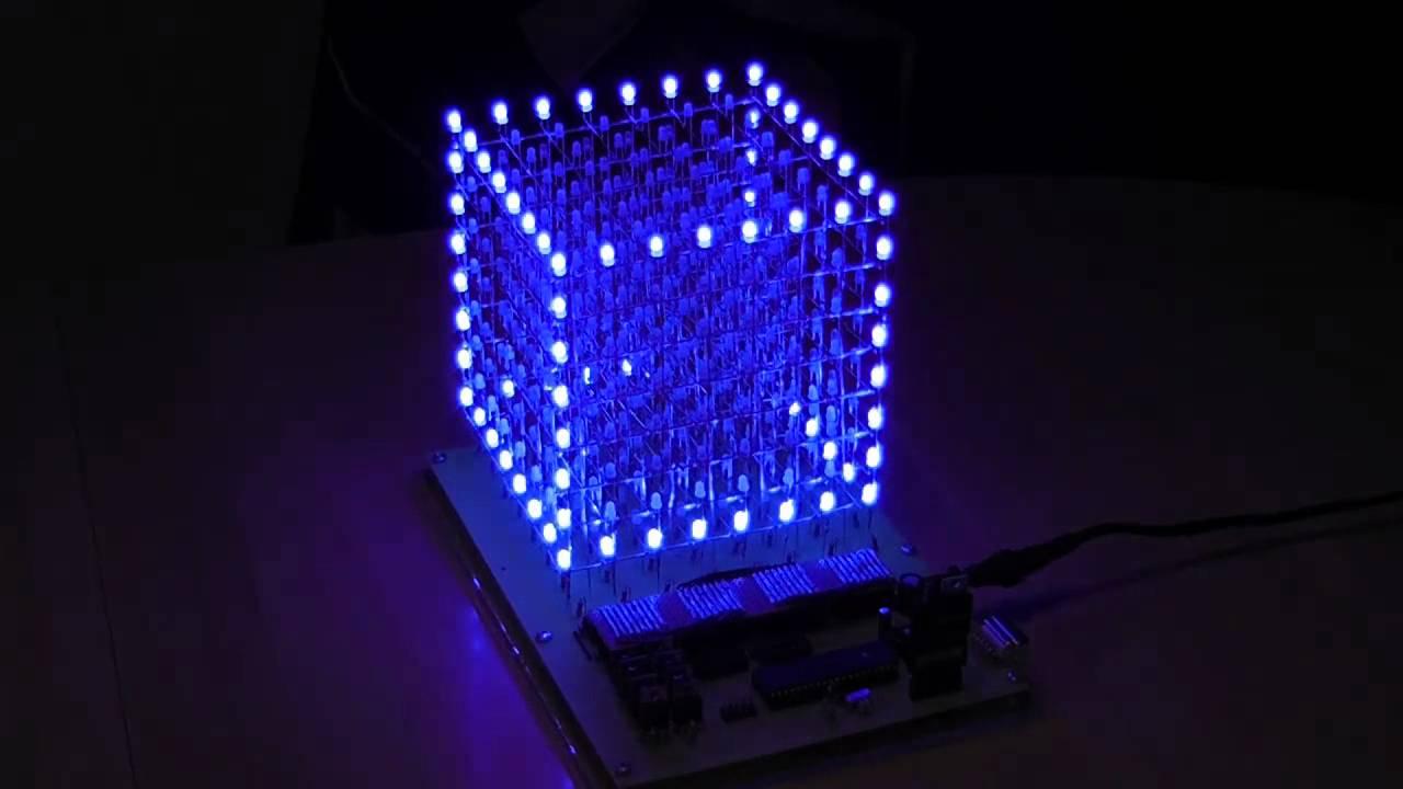 Led Cube 8x8x8 Youtube