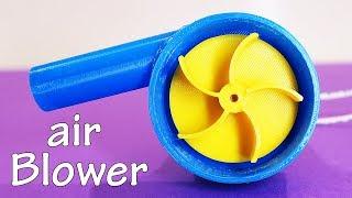 DIY Powerful AIR BLOWER - 3D Printed Air Pump