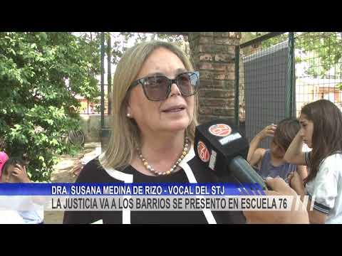 """El programa """"La Justicia va a los barrios"""" estuvo nuevamente en Concordia"""