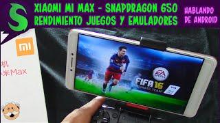 Xiaomi Mi MAX - Rendimiento en Juegos