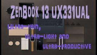 Обзор ультрабука ASUS ZenBook 13 UX331UAL