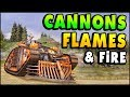 Crossout - CANNONS, FLAMES, AND RAPID FIRE! (Crossout Gameplay)
