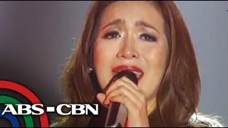 Angeline cries after duet with YouTube sensation