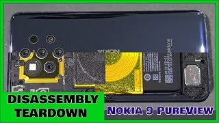 Nokia 9 PureView Disassembly Teardown Repair Guide. Well Sealed!