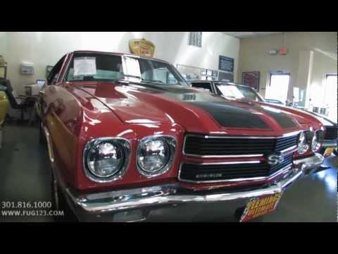 1970 Chevrolet Chevelle SS 396 FOR SALE TEST DRIVE flemings ultimate garage md