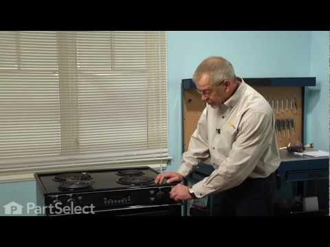 Range/Stove/Oven Repair - Replacing Surface Burner Element - 8
