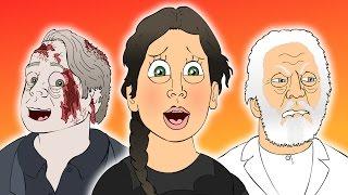 """The Hunger Games: Mockingjay Part 1"" Movie Trailer PARODY"