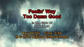 download lagu Nickelback - Feelin' Way Too Damn Good Backing Track gratis