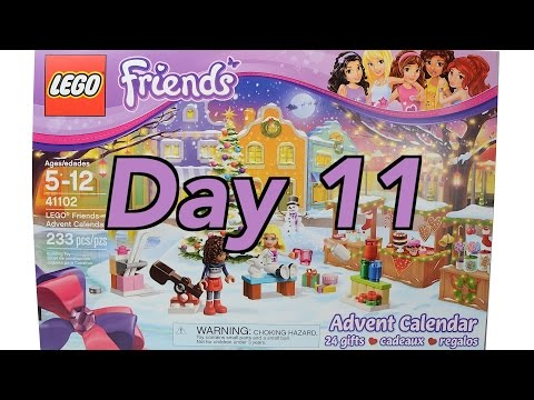 Lego Friends advent calendar: Day 11 stop motion build