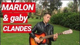 MARLON y GABY-CLANDES (COVER por JUAN ACOSTA)