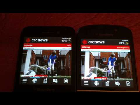 Blackberry Q5 vs Q10 app launch speed comparison