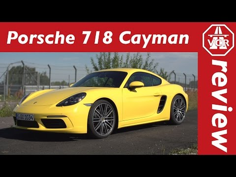 2016 Porsche 718 Cayman - In-Depth Review, Full Test, Test Drive