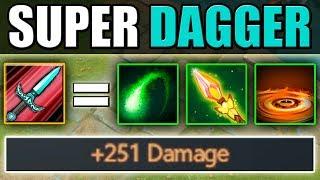 Triple Dagger Upgrade with LVL 25 [+251 Damage] Talent | Dota 2 Ability Draft