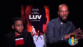 LUV - Actors Common and Michael Rainey, Jr on Reelblack TV