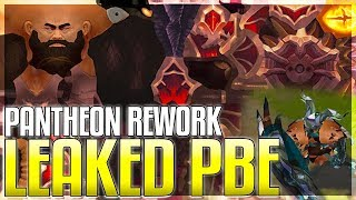 Pantheon Rework LEAKED On PBE! Rework Coming SOON! New In-Game Assets - League of Legends