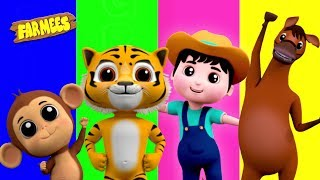 Colors Song | Preschool Learning Videos For Kids | Song For Babies