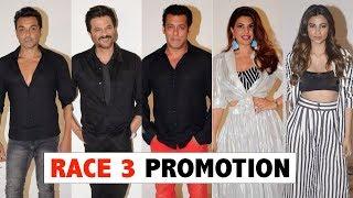 Race 3 Movie Promotion | Salman Khan,Jacqueline Fernandez,Anil Kapoor,Bobby Deol