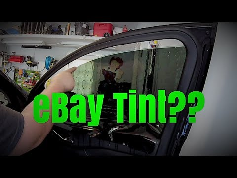 How to eBay Tint Your Windows