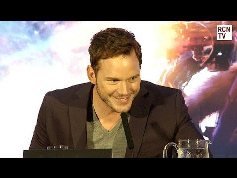 Chris Pratt Wants To Kill Iron Man - Guardians of the Galaxy Premiere