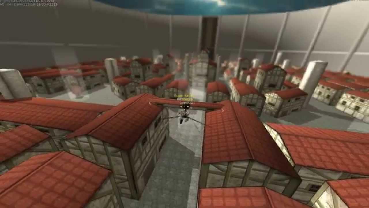 Руководство запуска: Attack on Titan Tribute game по сети