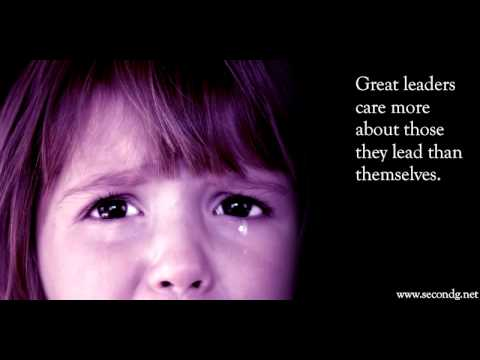 Leaders Care - Inspirational Leadership Video