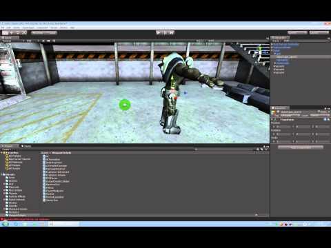 Unity3d как сделать врага