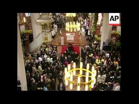 WRAP Pope Benedict arrival; ceremony, Holocaust memorial