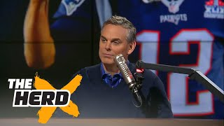 Colin agrees with Vegas, The Patriots are the Super Bowl LI favorites | THE HERD