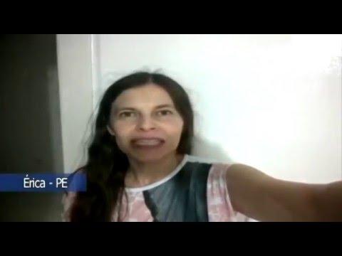 Faça como a Érica! Envie seu vídeo pessoal para o Whatsapp do Papo de Graça!