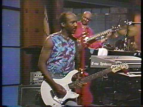 Ernie Isley - 1990 - guitar fun in LA