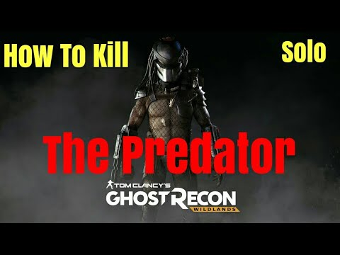 Tom Clancy's GRW: How to kill the Predator on SOLO!