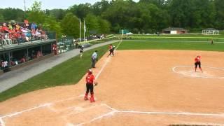 Pilsak single St. John's Catholic/Roland Park Country softball IAAM C finals 5/9/15