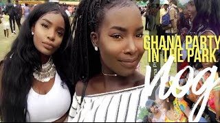 GHANA PARTY IN THE PARK 2016 VLOG