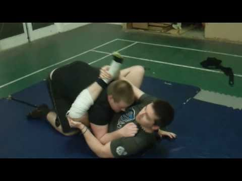 Triangle Choke from Rubber Guard Image 1