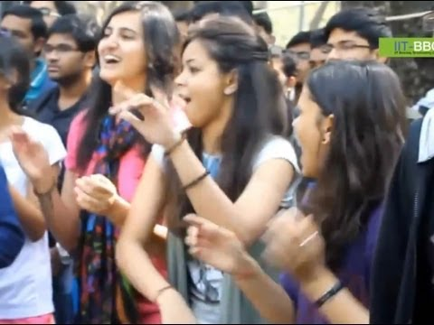 Flash Mob At Iit Bombay video