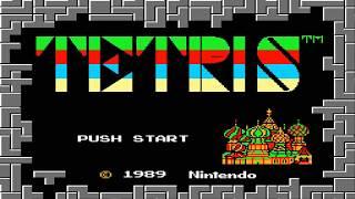 Tetris 1989 - Tentando fazer score máximo.